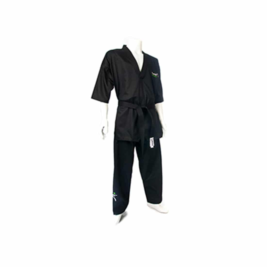 premier martial arts uniform black 1