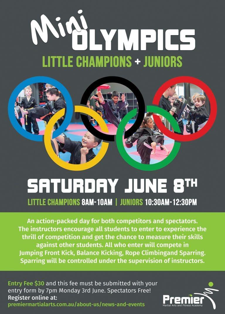 Mini Olympics Little Champions June 2019