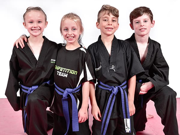 JUNIOR MARTIAL ARTS FOR KIDS AGES 7 TO 9 YEARS