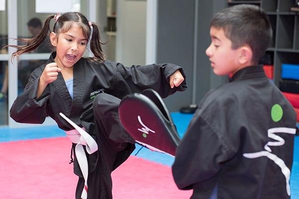 Kicks In Martial Arts For Children Classes