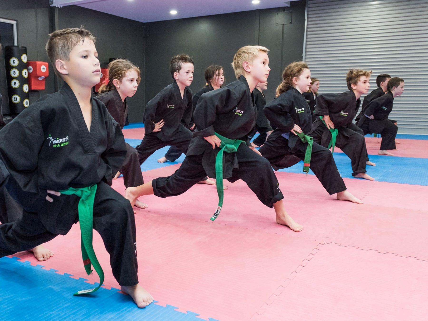 taekwondo landing page