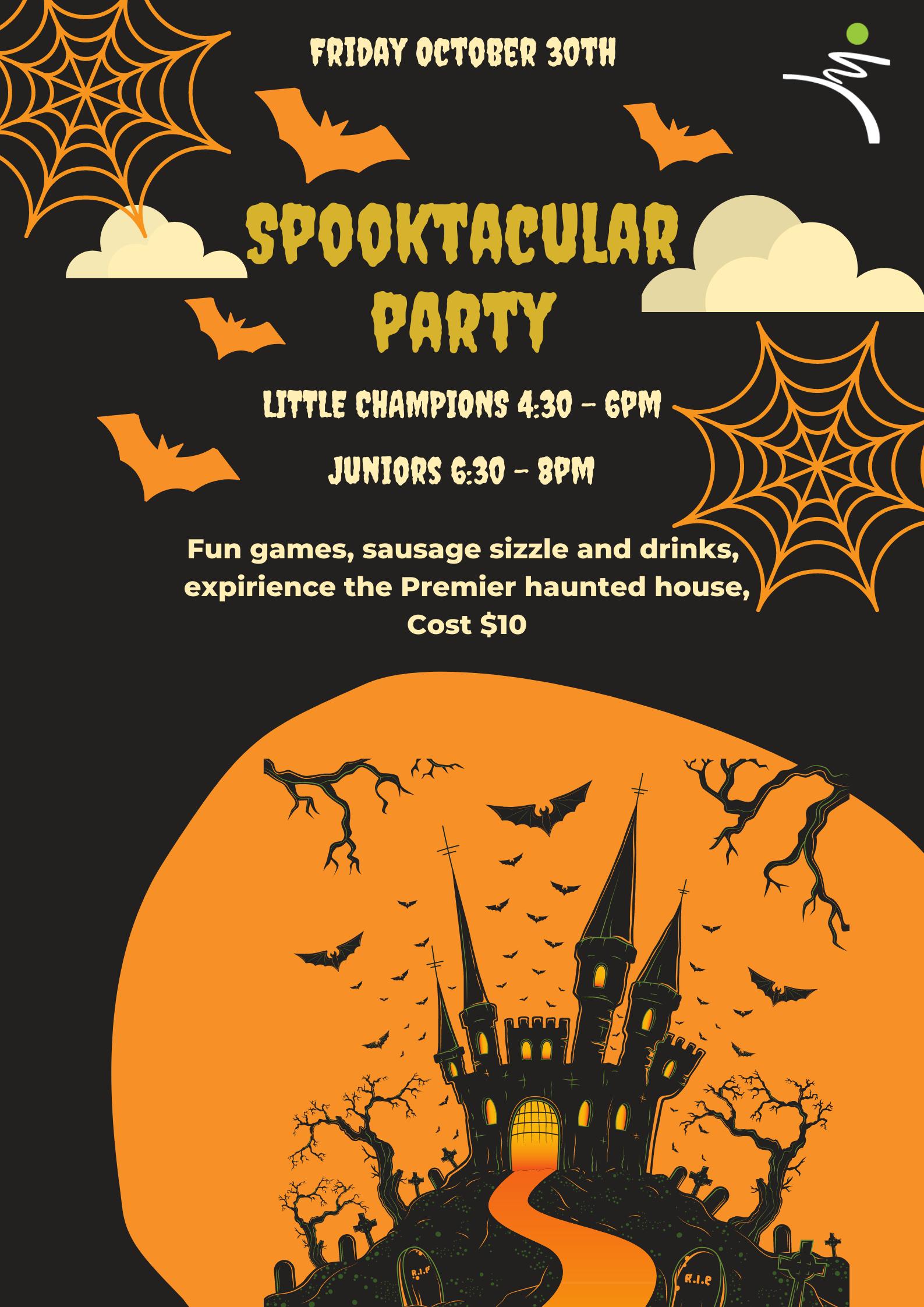 Web poster Halloween disco 1